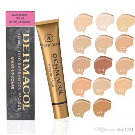 کرم پودر میکاپ کاور درماکول شماره 215 (Dermacol Make-up Cover