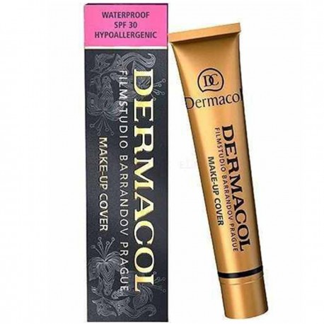 کرم پودر میکاپ کاور درماکول شماره 218 (Dermacol Make-up Cover