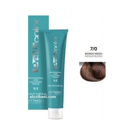 رنگ مو طبیعی اویستر  پرلاکالر بلوندشماره  7.0 oyster perlacolor no